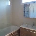 Mise en peinture salle de bain