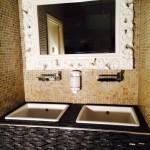 APRES : Pose vasques et carrelage dans hammam PARIS 11ème