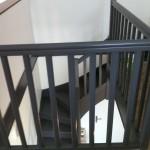 Escalier bois et garde corps